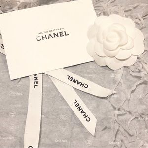 CHANEL Flower Gift Wrap Set + Ribbon and More!
